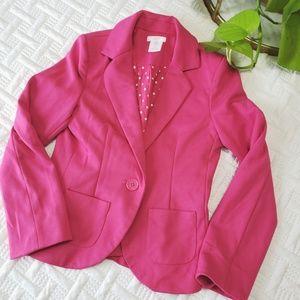 🌿BOGO 1/2 OFF🌿 Hot Pink Blazer